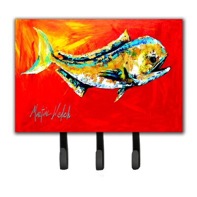 Danny Dolphin Fish Leash Holder and Key Holder