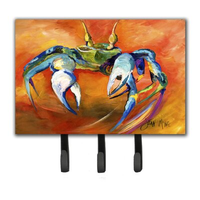 Caroline's Treasures Crab Key Holder