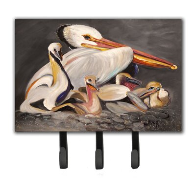 Pelicans Leash Holder and Key Hook