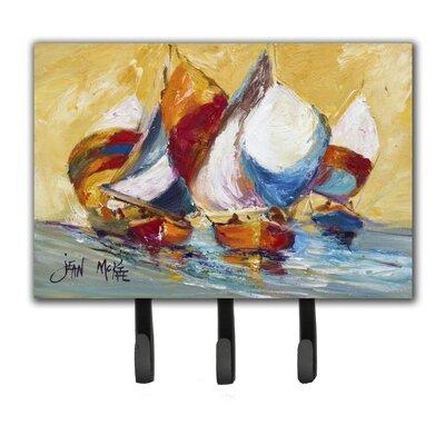 Boat Race Leash Holder and Key Hook
