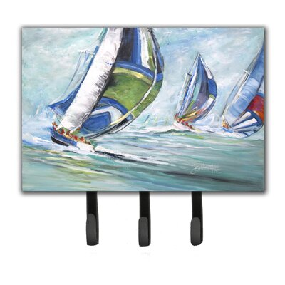 Boat Race Leash Holder and Key Hook