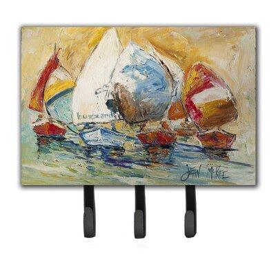 Buzzards Sailboat Race Leash Holder and Key Hook