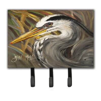 Heron Leash Holder and Key Hook