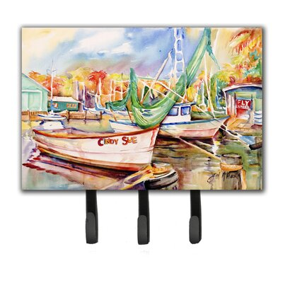 Sailboat Cindy Sue Leash Holder and Key Hook