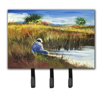Fisherman on The Bank Key Holder