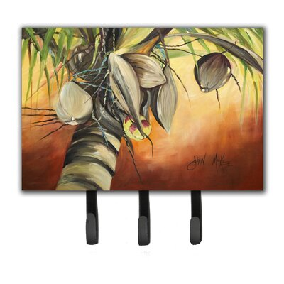 Coconut Tree Key Holder