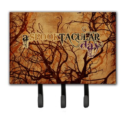 A Spook Tacular Day Halloween Leash Holder and Key Holder