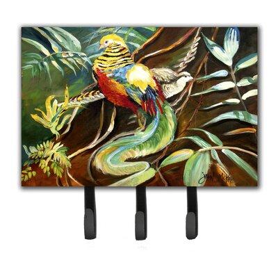 Mandarin Pheasant Leash Holder and Key Hook