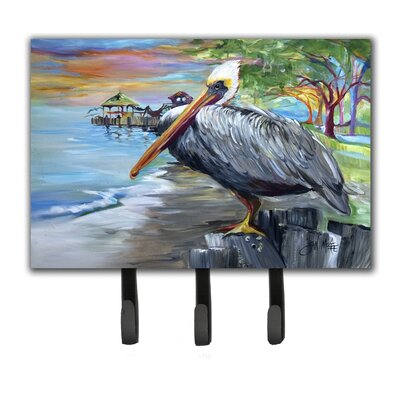 Pelican View Leash Holder and Key Hook