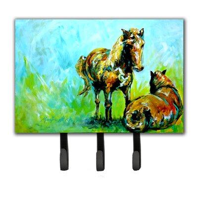 Horse Grazin Leash Holder and Key Holder