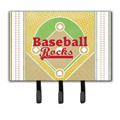 Baseball Rules Leash Holder and Key Hook