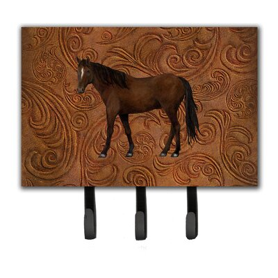Horse Leash Holder and Key Hook