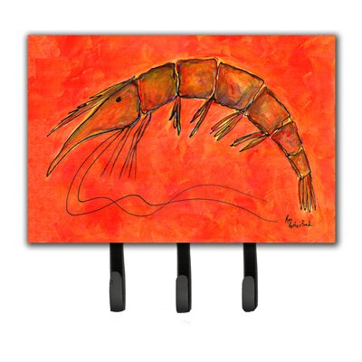 Shrimp Leash Holder and Key Hook