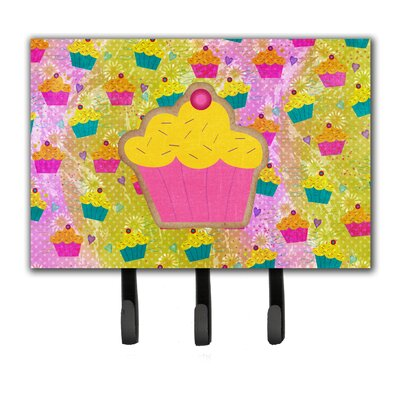 Cupcake Leash Holder and Key Hook