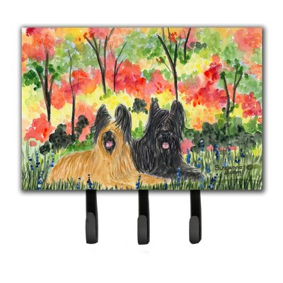 Briard Leash Holder and Key Hook