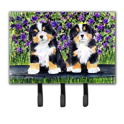 Bernese Mountain Dog Leash Holder and Key Hook