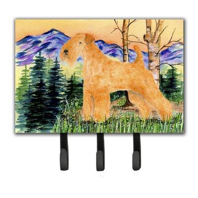 Lakeland Terrier Leash Holder and Key Hook