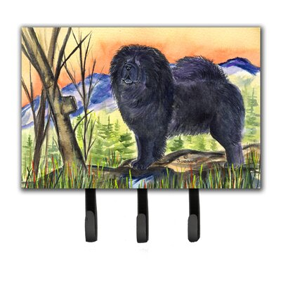 Chow Chow Leash Holder and Key Holder