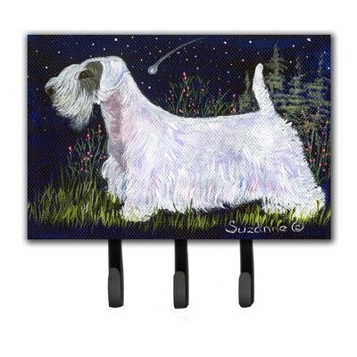 Sealyham Terrier Leash Holder and Key Hook