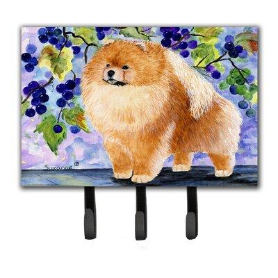 Pomeranian Key Holder