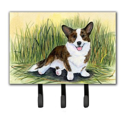 Corgi Leash Holder and Key Holder