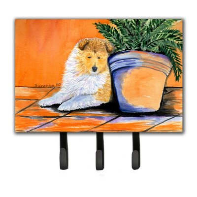 Sheltie Leash Holder and Key Hook