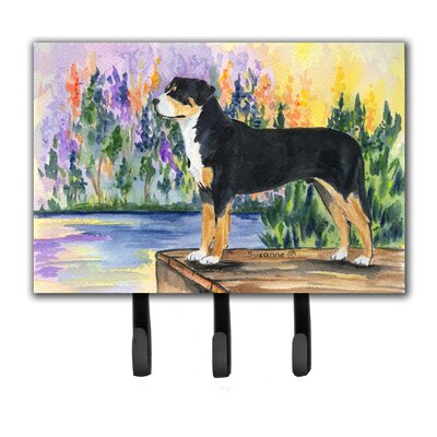 Greater Swiss Mountain Dog Leash Holder and Key Hook