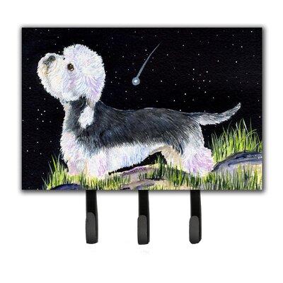 Starry Night Dandie Dinmont Terrier Leash Holder and Key Hook