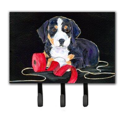Entlebucher Mountain Dog Leash Holder and Key Hook