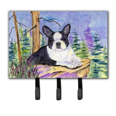 Boston Terrier Key Holder