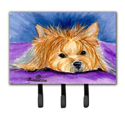 Yorkie Leash Holder and Wall Hook
