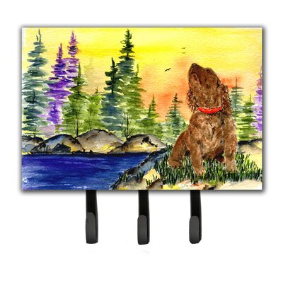 American Water Spaniel Leash Holder and Key Hook