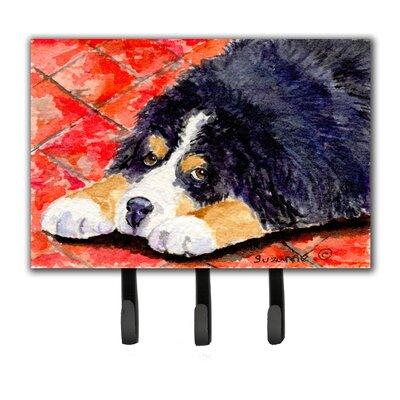 Bernese Mountain Dog Leash Holder and Key Holder