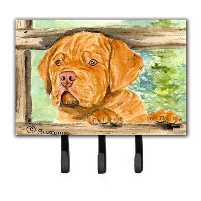 Dogue De Bordeaux Leash Holder and Wall Hook