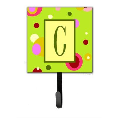 Monogram Wall Hook Letter: C