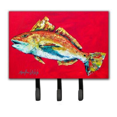 Red Fish Woo Hoo Key Holder