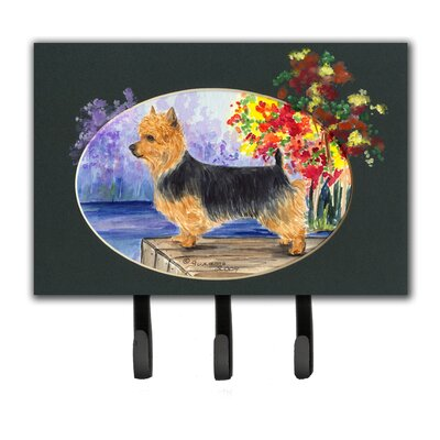 Australian Terrier Leash Holder and Key Hook