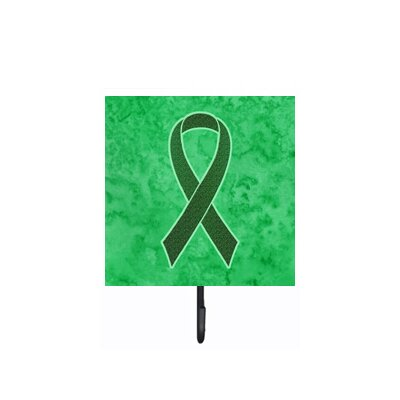 Ribbon For Liver Cancer Awareness Leash Holder and Wall Hook