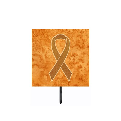 Ribbon For Leukemia Awareness Leash Holder and Wall Hook