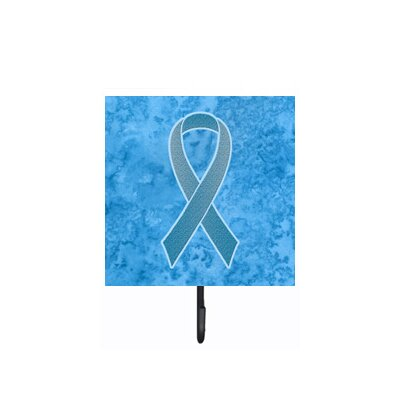 Ribbon For Prostate Cancer Awareness Leash Holder and Wall Hook