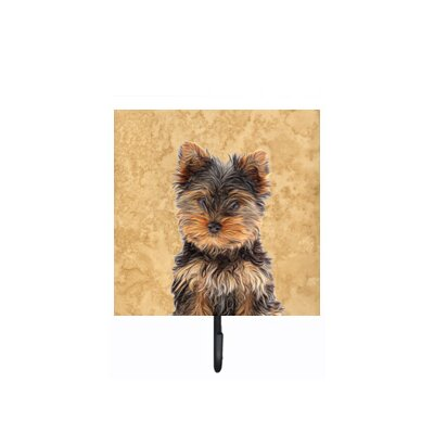Yorkie Puppy/Yorkshire Terrier Leash Holder and Wall Hook