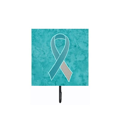 Ribbon For Cervical Cancer Awareness Leash Holder and Wall Hook