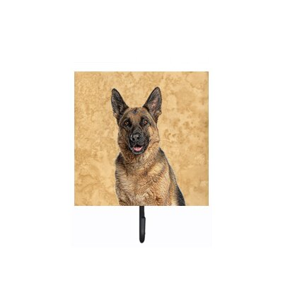 German Shepherd Leash Holder and Wall Hook
