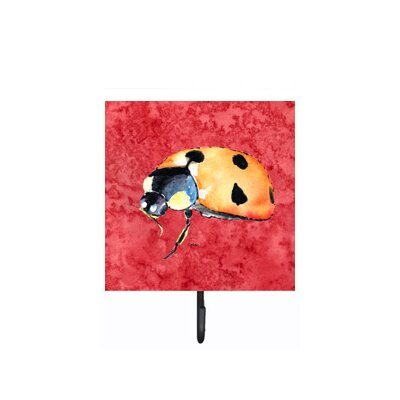 Lady Bug Leash Holder and Wall Hook