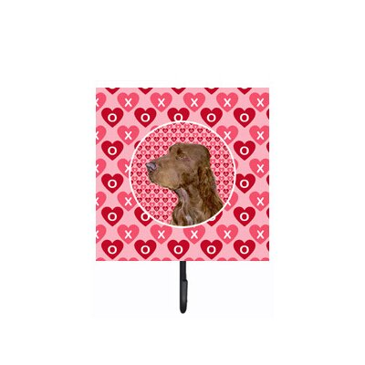 Field Spaniel Leash Holder and Wall Hook