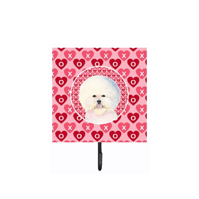 Bichon Frise Leash Holder and Key Hook