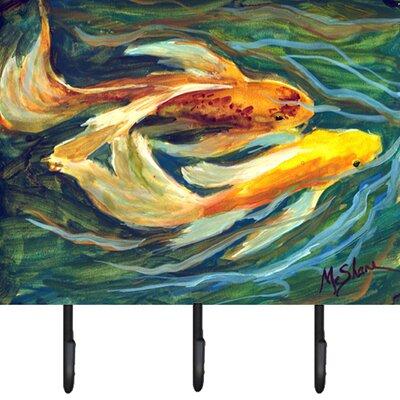 Koi Fish Leash Holder and Key Hook