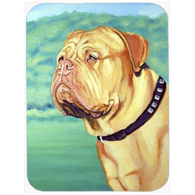 Dogue De Bordeaux Rectangle Glass Cutting Board