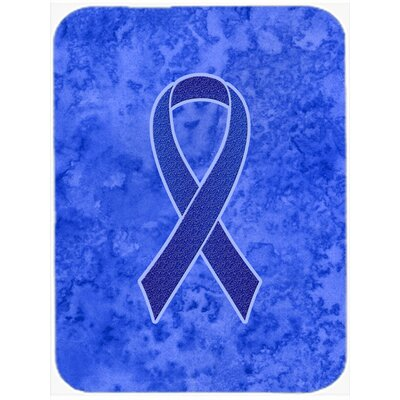 Ribbon for Awareness Glass Cutting Board Color: Dark Blue