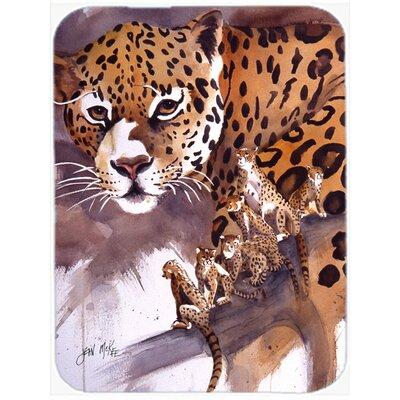 Cheetah Glass Cutting Board